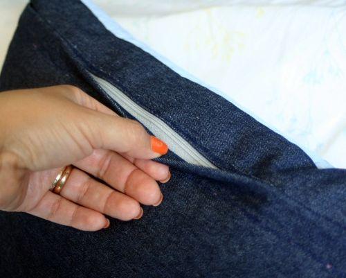 Pillow zip