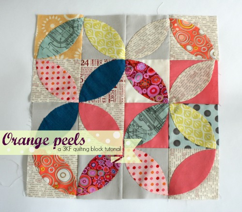 Three Kitchen Fairies: Orange peel/ tea leaves tutorial : orange peel quilt - Adamdwight.com